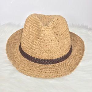 Vintage SI Fedora Straw Hat